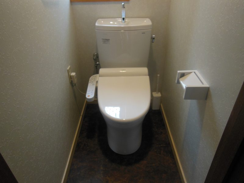 O様邸 トイレ施工後