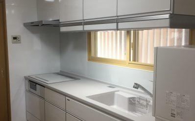 神戸市北区 T様邸 システムキッチン工事
